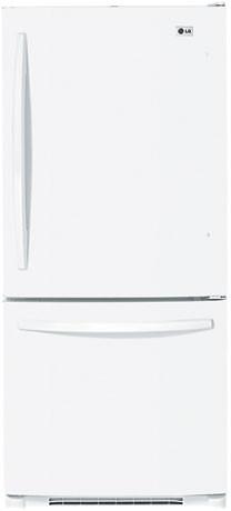 LG LRBC22522WW 22.4 Cu. Ft. Bottom Freezer Refrigerator