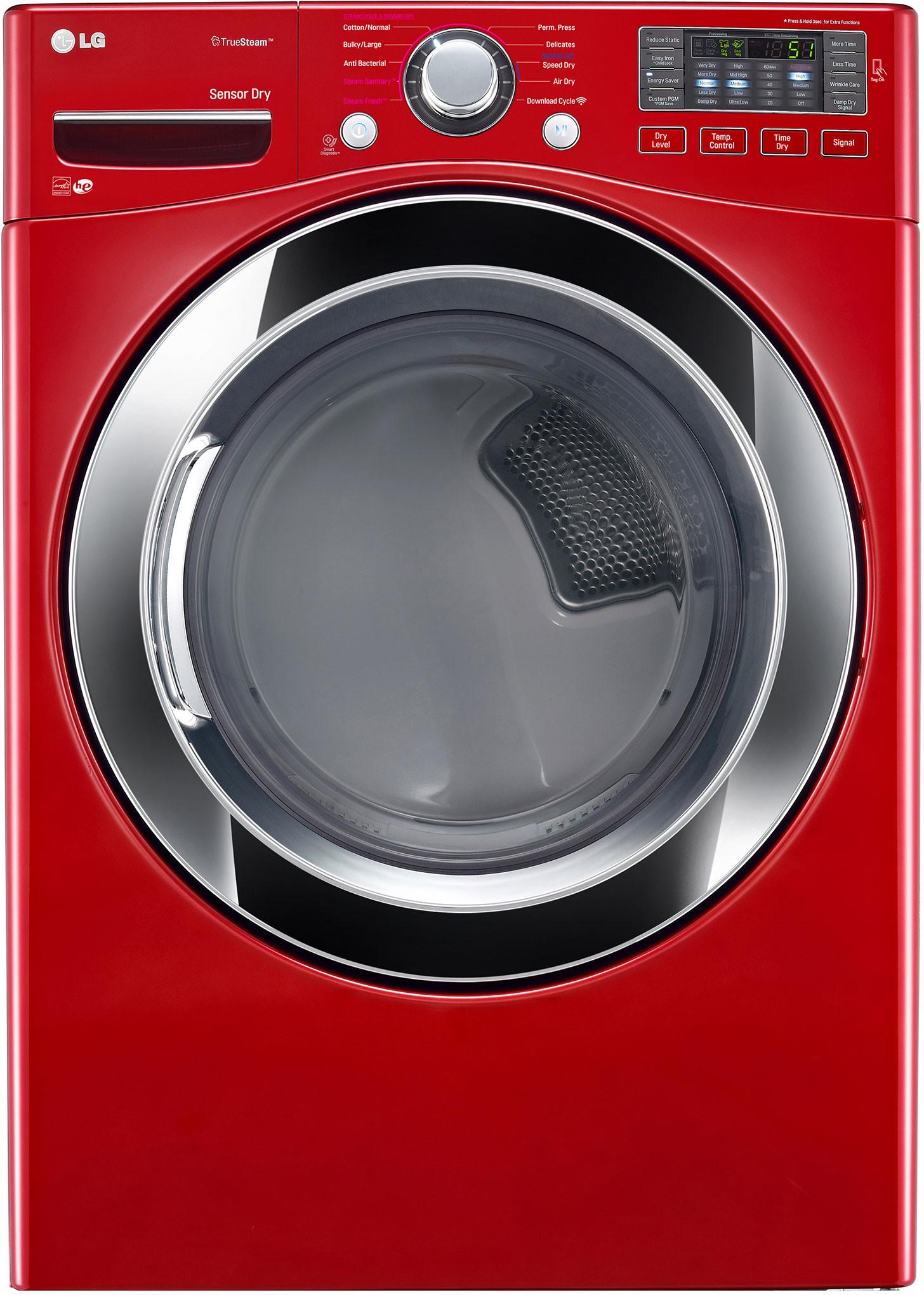 Lg Dlex R 27 Inch Electric Dryer With Truesteam
