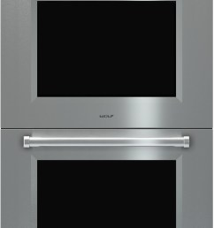 wolf do30pmsph 30 inch double electric wall oven with 5 1 cu ft dual verticross convection ovens 10 cooking modes self clean gourmet mode  [ 2790 x 4720 Pixel ]