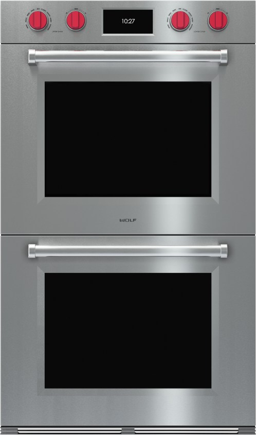 small resolution of wolf do30pmsph 30 inch double electric wall oven with 5 1 cu ft dual verticross convection ovens 10 cooking modes self clean gourmet mode