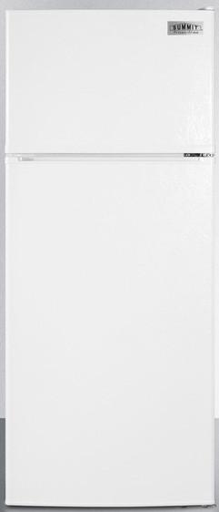 Summit FF1118W 24 Inch Top-Freezer Refrigerator with