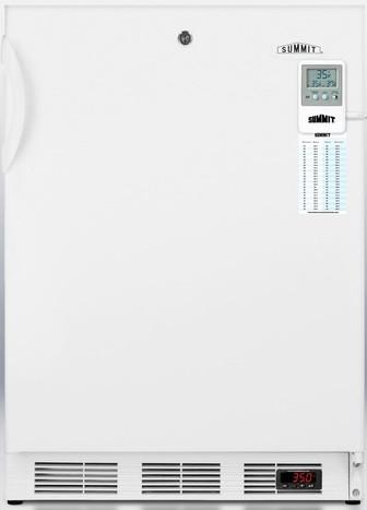 Summit FF7LBIMEDDTADA 24 Inch Compact Refrigerator with 5