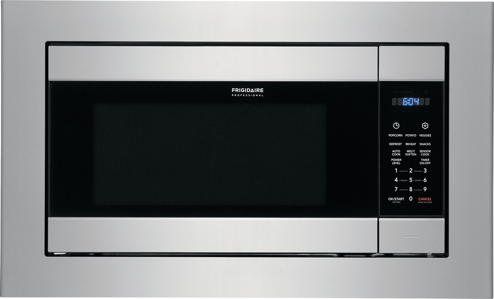 frigidaire professional series 24 inch built in microwave