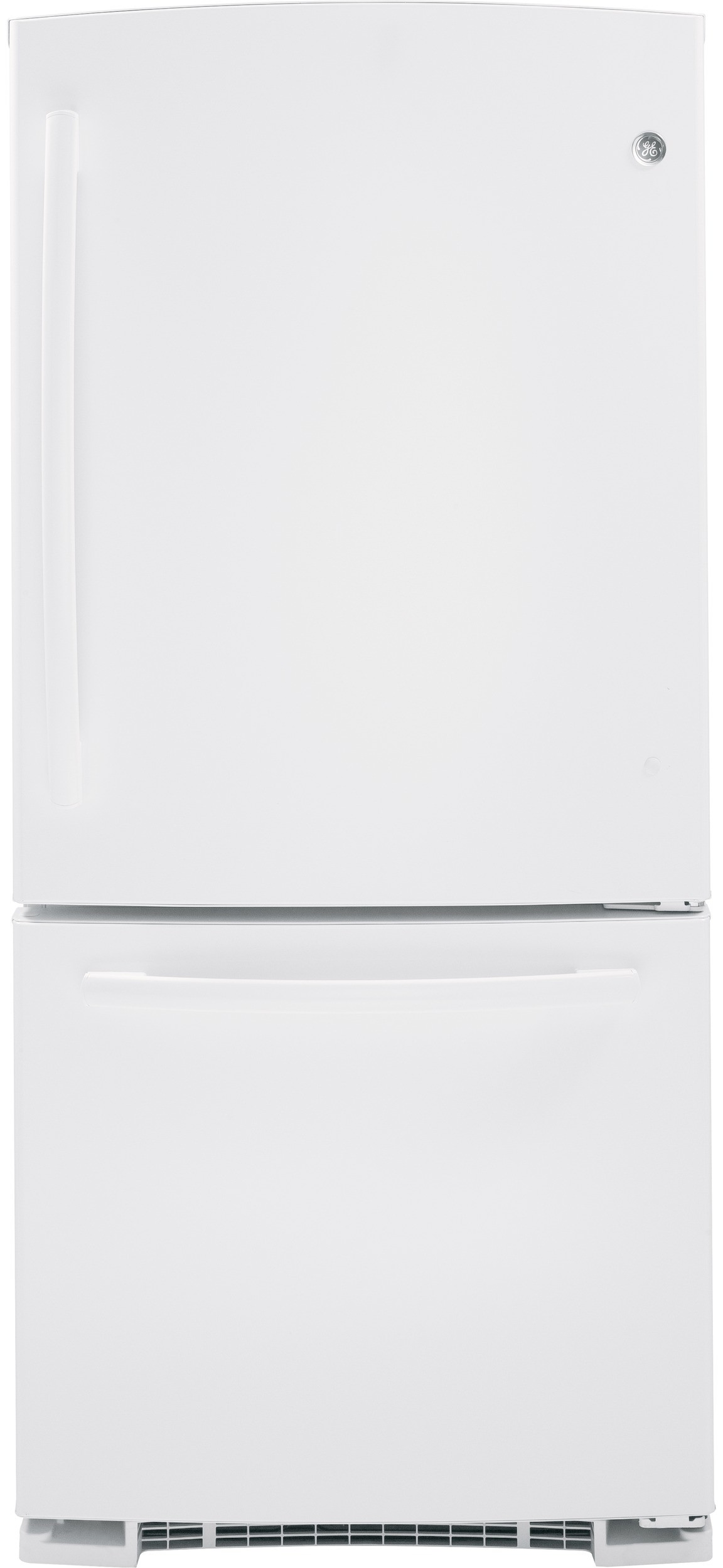 GE GDE23GGHWW 33 Inch Bottom-Freezer Refrigerator with 23