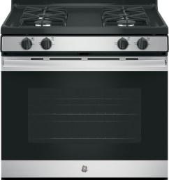 ge jgb635rekss 30 inch freestanding gas range with precise simmer burner storage drawer self clean in oven broiler 4 sealed burners 5 0 cu ft  [ 1584 x 2500 Pixel ]