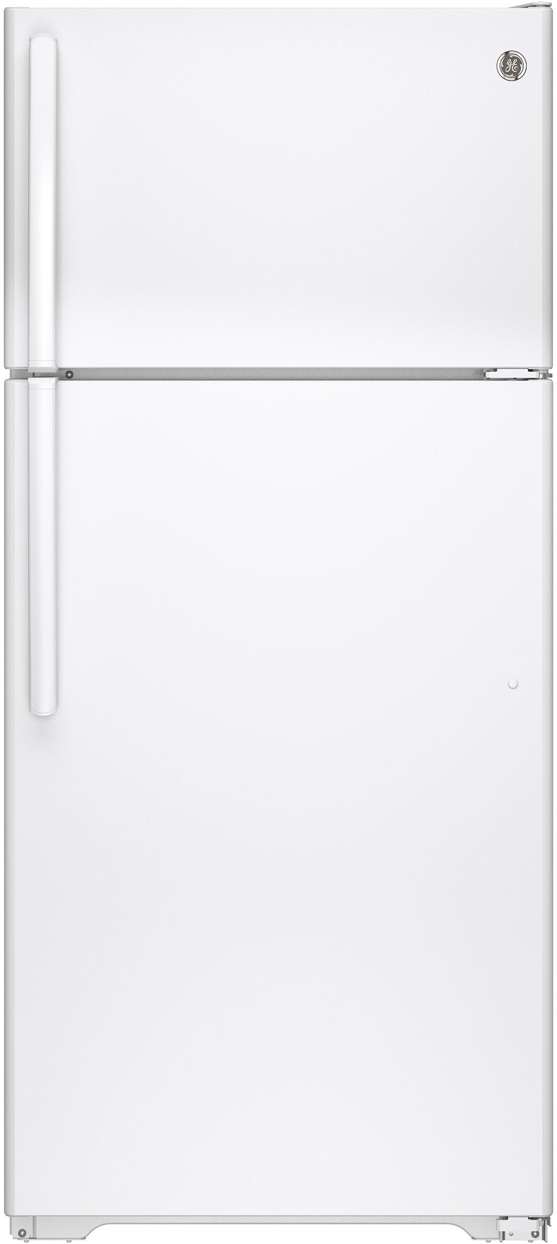 GE GTS16DTHWW 28 Inch Top-Freezer Refrigerator with
