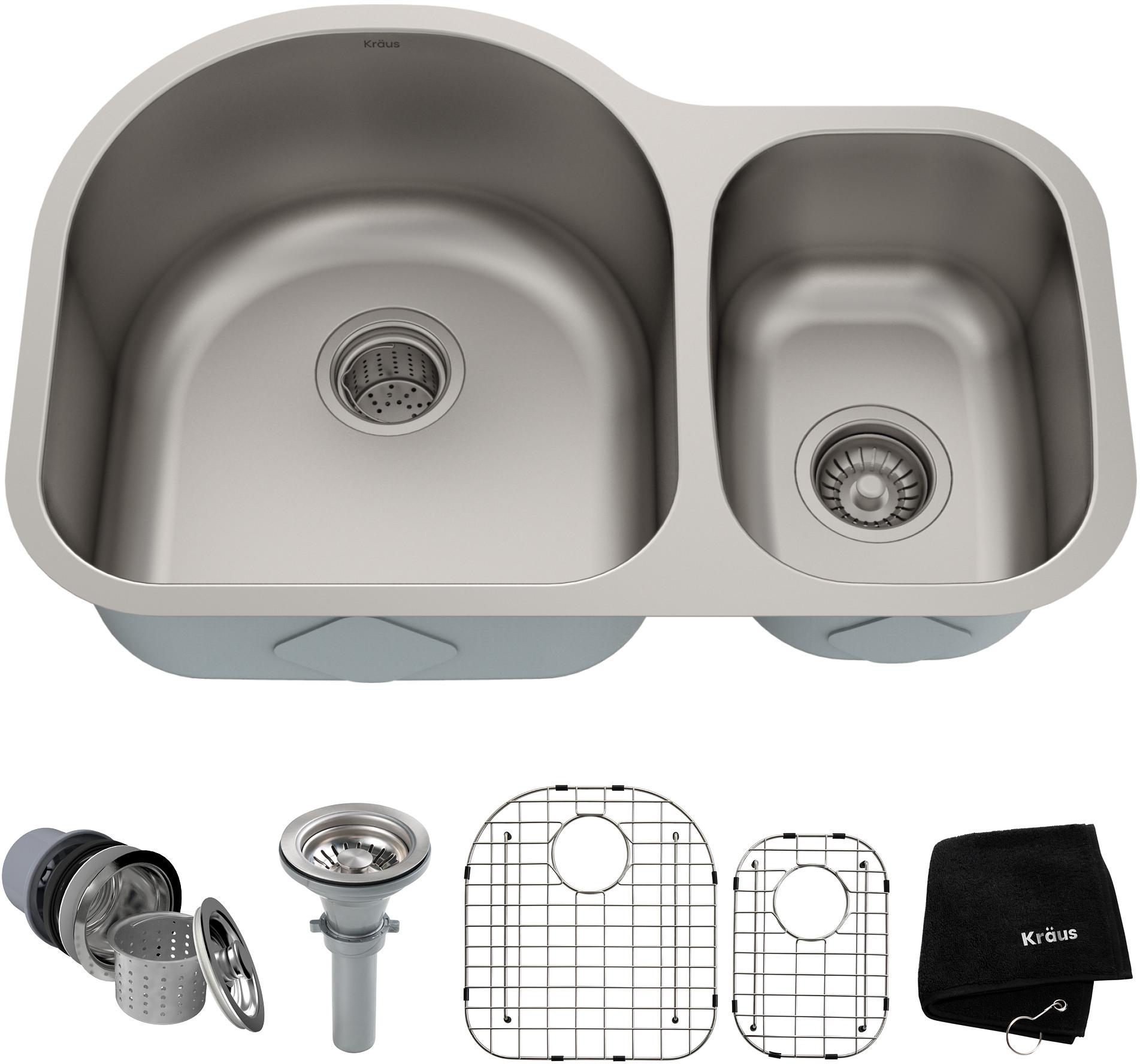 kraus kitchen sink series kbu21
