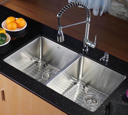 kraus kitchen combo series khu10233kpf1612ksd30ch