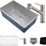 Kraus Khu32261041ss 31 Inch Undermount Kitchen Sink And Faucet Combo With Noisedefend 16 Gauge Stainless Steel And Commercial Grade Finish Stainless Steel
