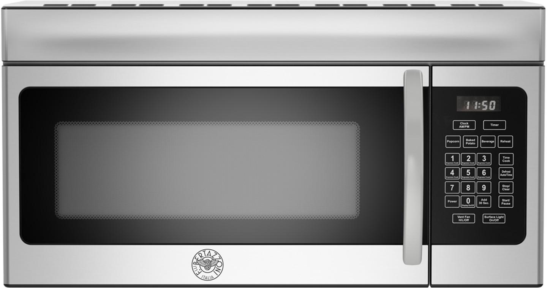 bertazzoni professional series 1 6 cu ft over the range microwave