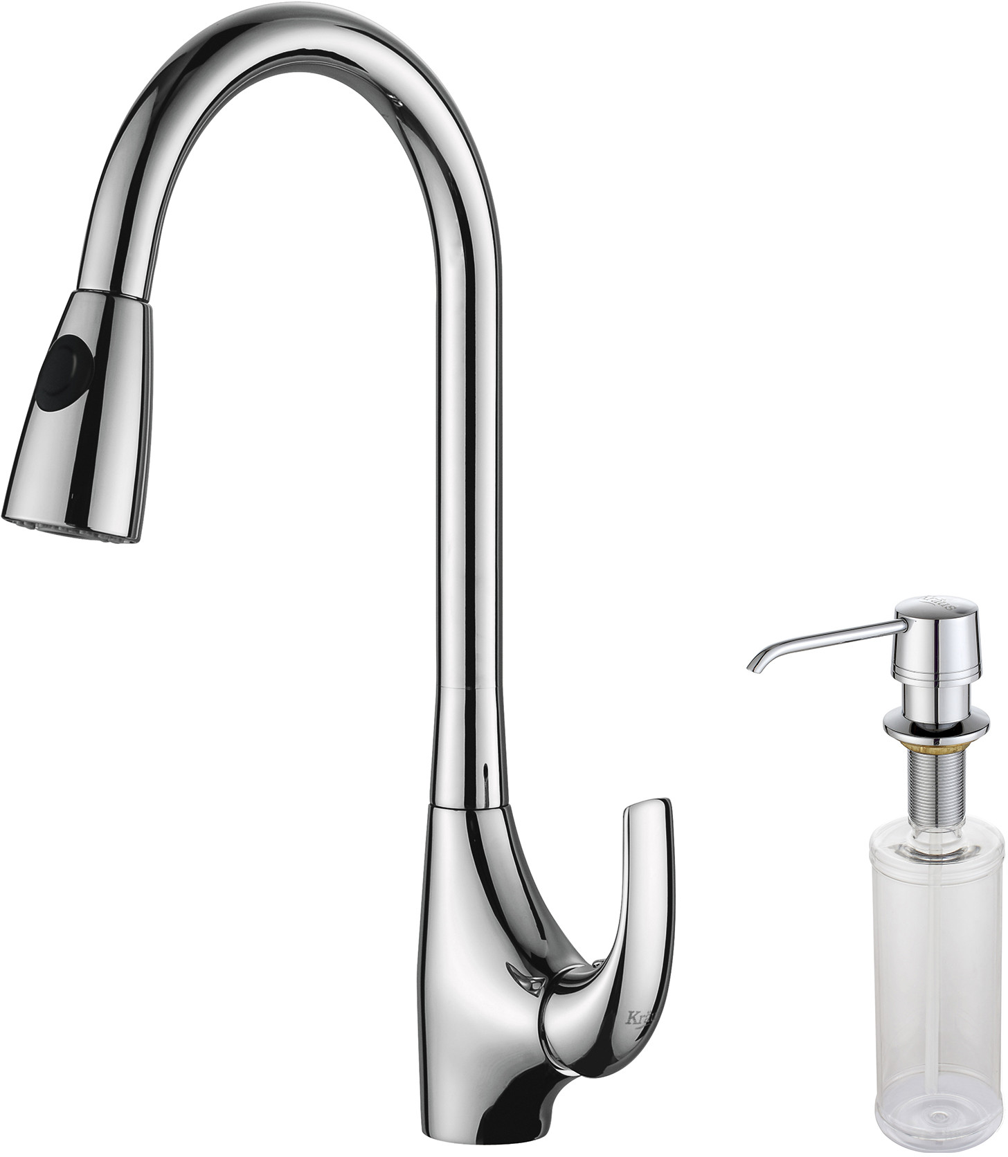 kraus kitchen faucet series kpf1621ksd30ch