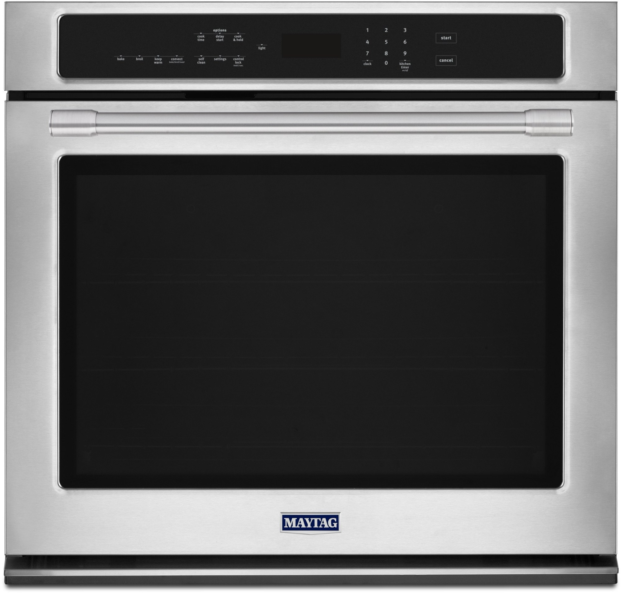 hight resolution of maytag mew9527fz 27 inch electric wall oven with 5 0 cu ft capacity fingerprint resistant stainless steel true convection with fan and 3rd element
