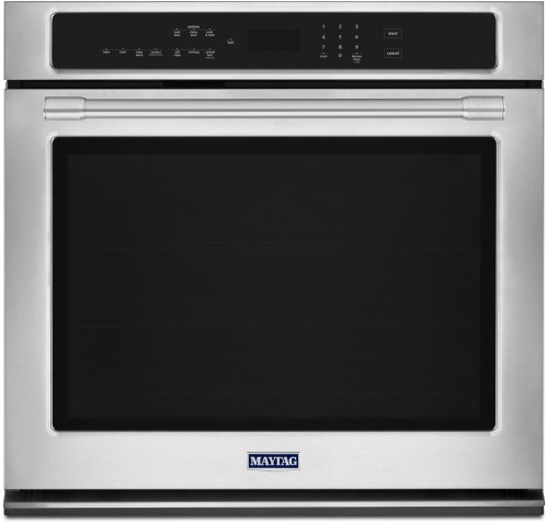 small resolution of maytag mew9527fz 27 inch electric wall oven with 5 0 cu ft capacity fingerprint resistant stainless steel true convection with fan and 3rd element