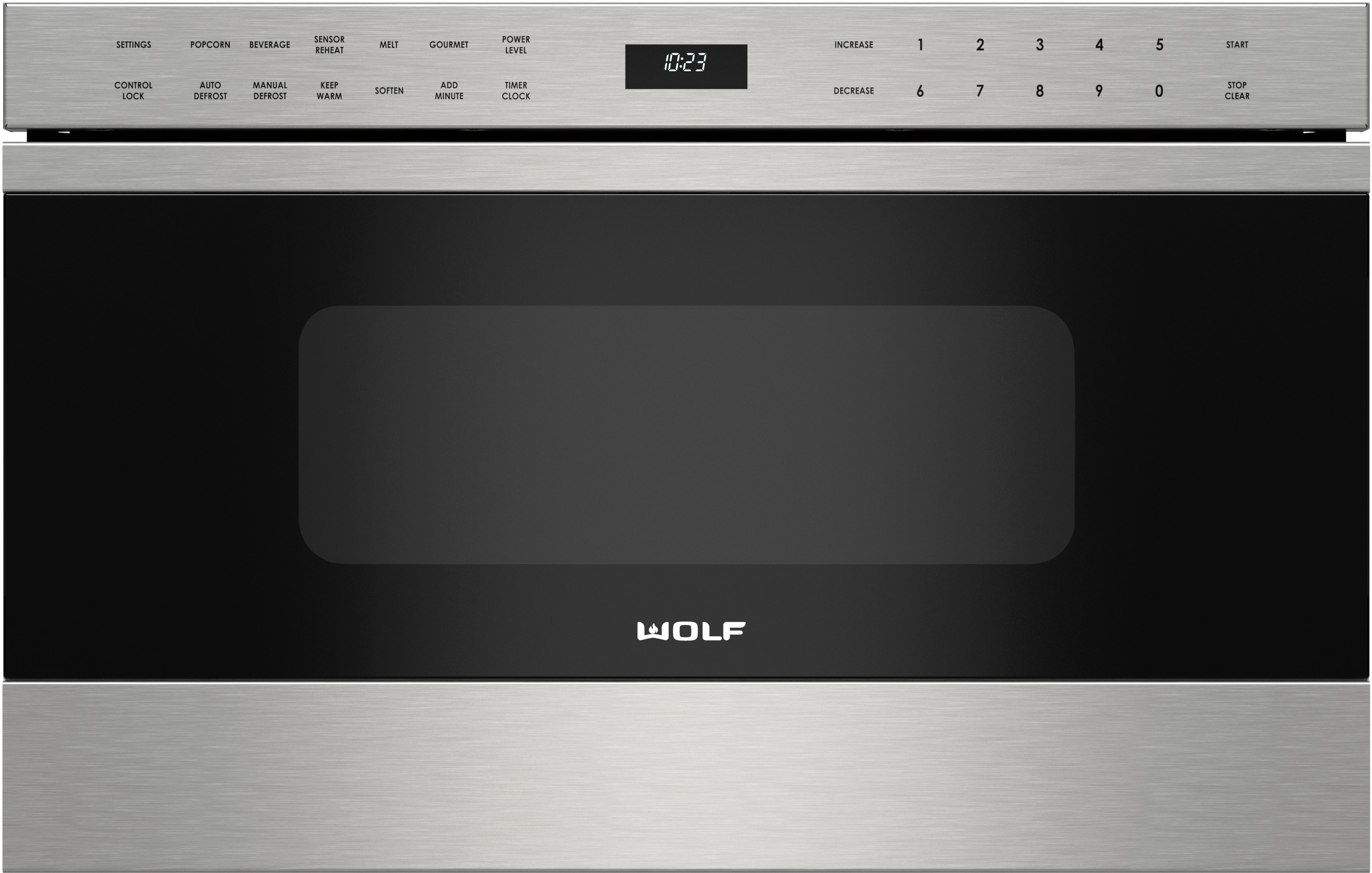 wolf 24 inch microwave drawer