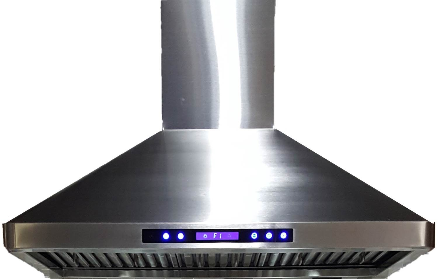 hood kitchen lamp verona vehood36ch 36 inch chimney range with remote control