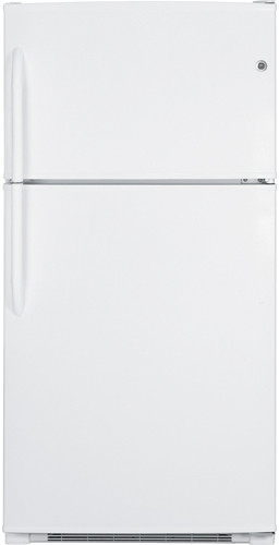 GE GTH21KBXWW 21 cu. ft. Top Freezer Refrigerator with 4