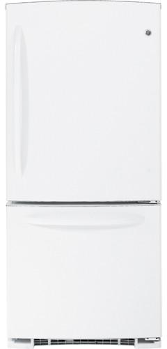 GE GBSC0HBXWW 20.3 cu. ft. Bottom-Freezer Refrigerator