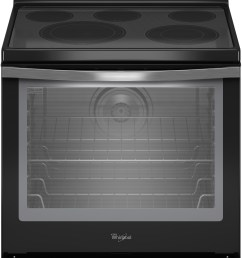 whirlpool wfe540h0ee 30 inch freestanding electric range with convection accubake flexheat aqualift 5 smoothtop elements 6 4 cu ft  [ 1797 x 3049 Pixel ]