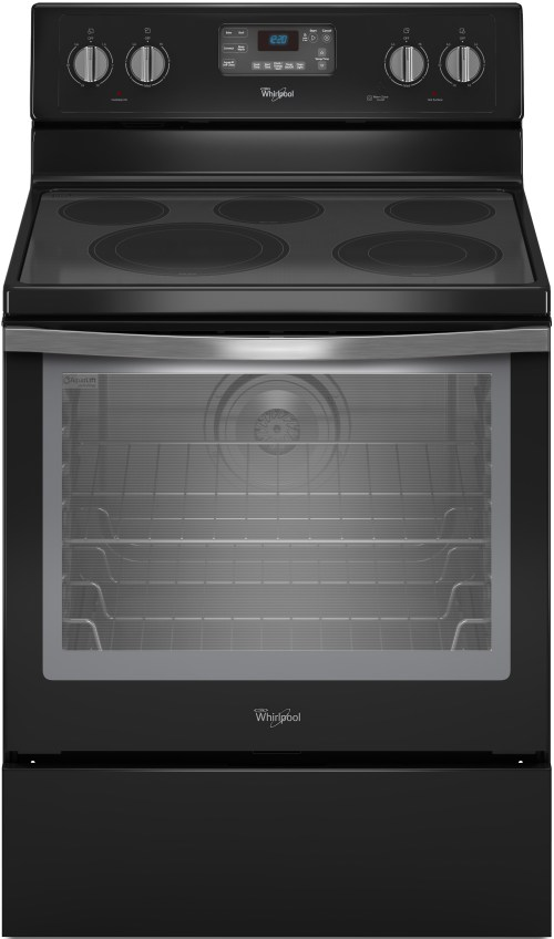 small resolution of whirlpool wfe540h0ee 30 inch freestanding electric range with convection accubake flexheat aqualift 5 smoothtop elements 6 4 cu ft