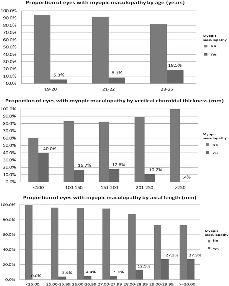 Myopic Maculopathy and Optic Disc Changes in Highly Myopic