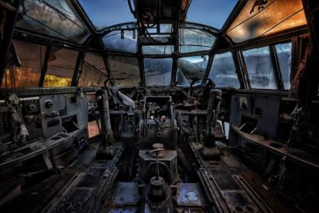 Lost Places - Verlassenes Flugzeug