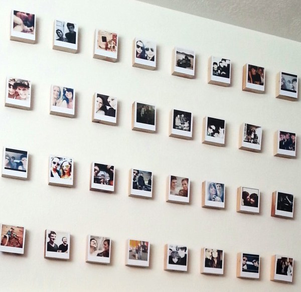 Instagram Polaroid Blocks