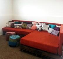 Diy Shipping Pallet Couch Joyful Riot