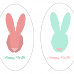 Bunny Stickers | Free Printable