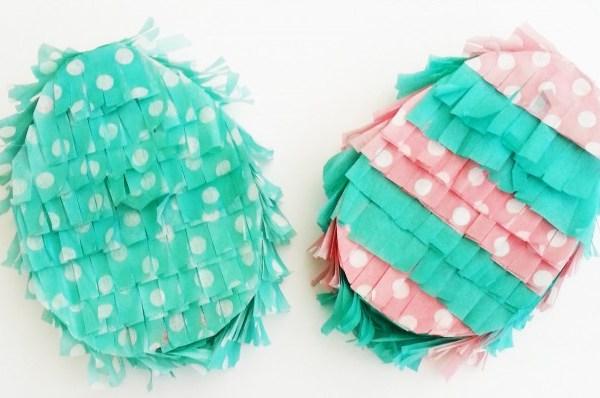 DIY Handheld Easter Egg Piñatas