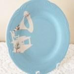 DIY Vintage Silhouette Plates