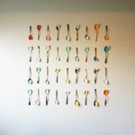 Painted Spoon Wall Art