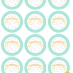 Celebrate Cupcake Pick Toppers | Free Printable Friday