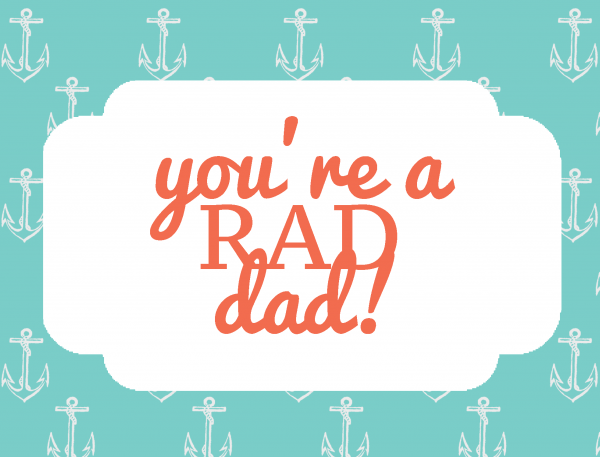 Father's Day Card | Free Printable Friday