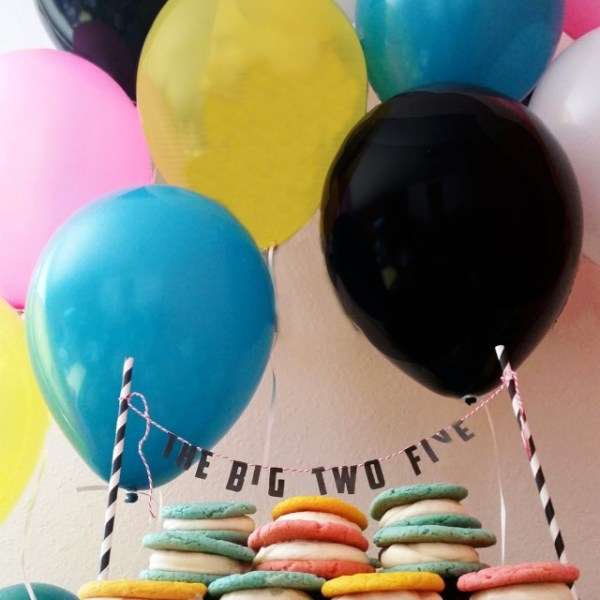 The Big Birthday Cake Topper