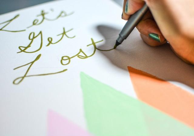 Let's Get Lost Canvas Art | A Joyful Riot