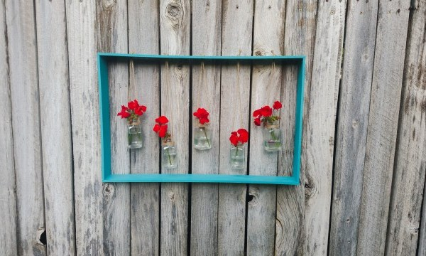 DIY Hanging Vases