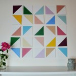 DIY Dimensional Geometric Wall Art