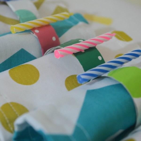 Birthday Candle Napkin Rings