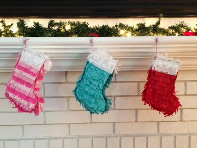 Make mini pinatas for stockings! | A Joyful Riot @ajoyfulriot