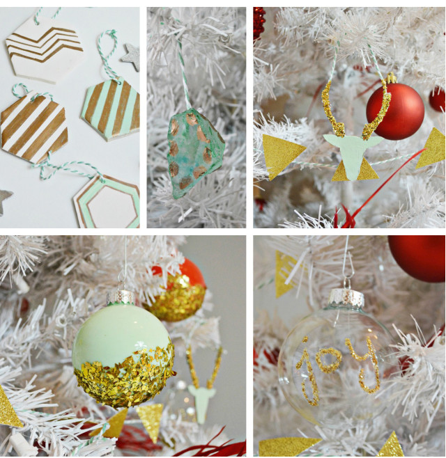 christmasornament collage