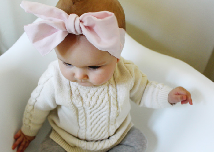 Diy Baby Oversized Bow Headwraps A Joyful Riot