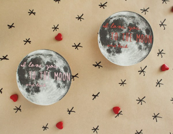 Over-the-Moon-Pie Valentines | Free Printable Friday