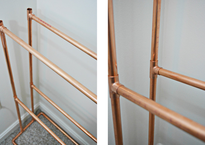 DIY Copper Bookcase Ajoyfulriot