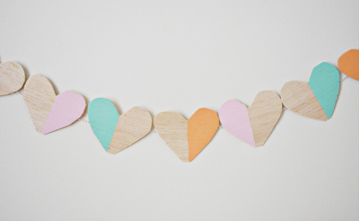 wood heart garland2 copy