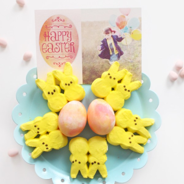 DIY Watercolor Easter Eggs