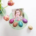 Colorful Glitter Easter Eggs DIY