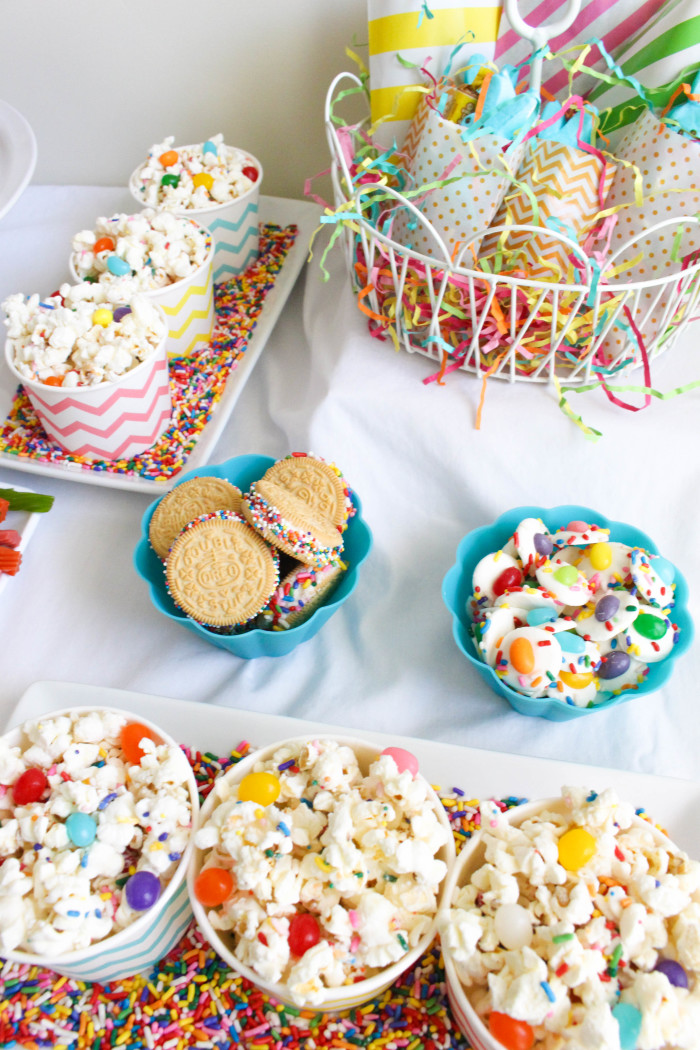 A Sweet Sprinkles Jellybeans Easter Party Tons Of Sprinkle Treats And Ideas