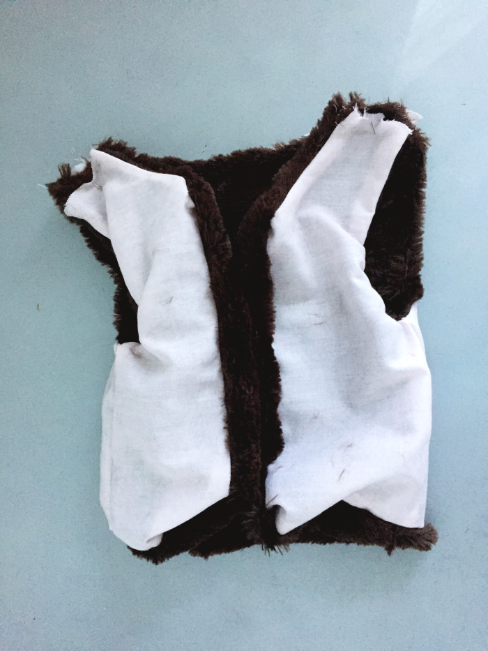 DIY Baby and Toddler Fur Vest with free pattern | A Joyful Riot