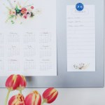 Floral Notepad   Free Printable Friday