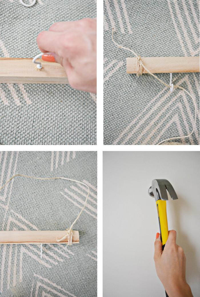 wood key hanger_steps2
